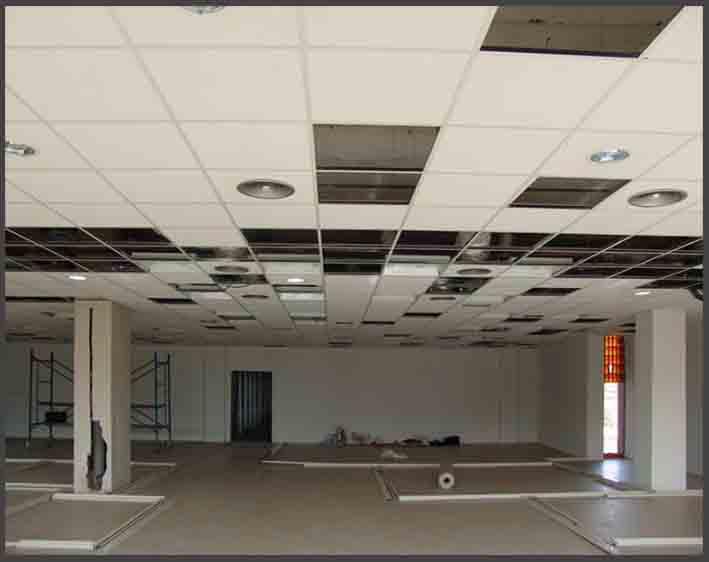 falsos techos de oficinas en Barcelona, falsos techos para despachos en Barcelona, falsos techos altillos oficinas y naves en Barcelona