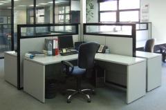Biombos / separaciones de mampara para oficinas y despachos en Barcelona