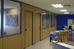 Mamparas y divisiones para oficinas contra incendios en Barcelona