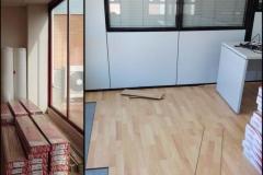 Suelo parquet para oficinas en Barcelona