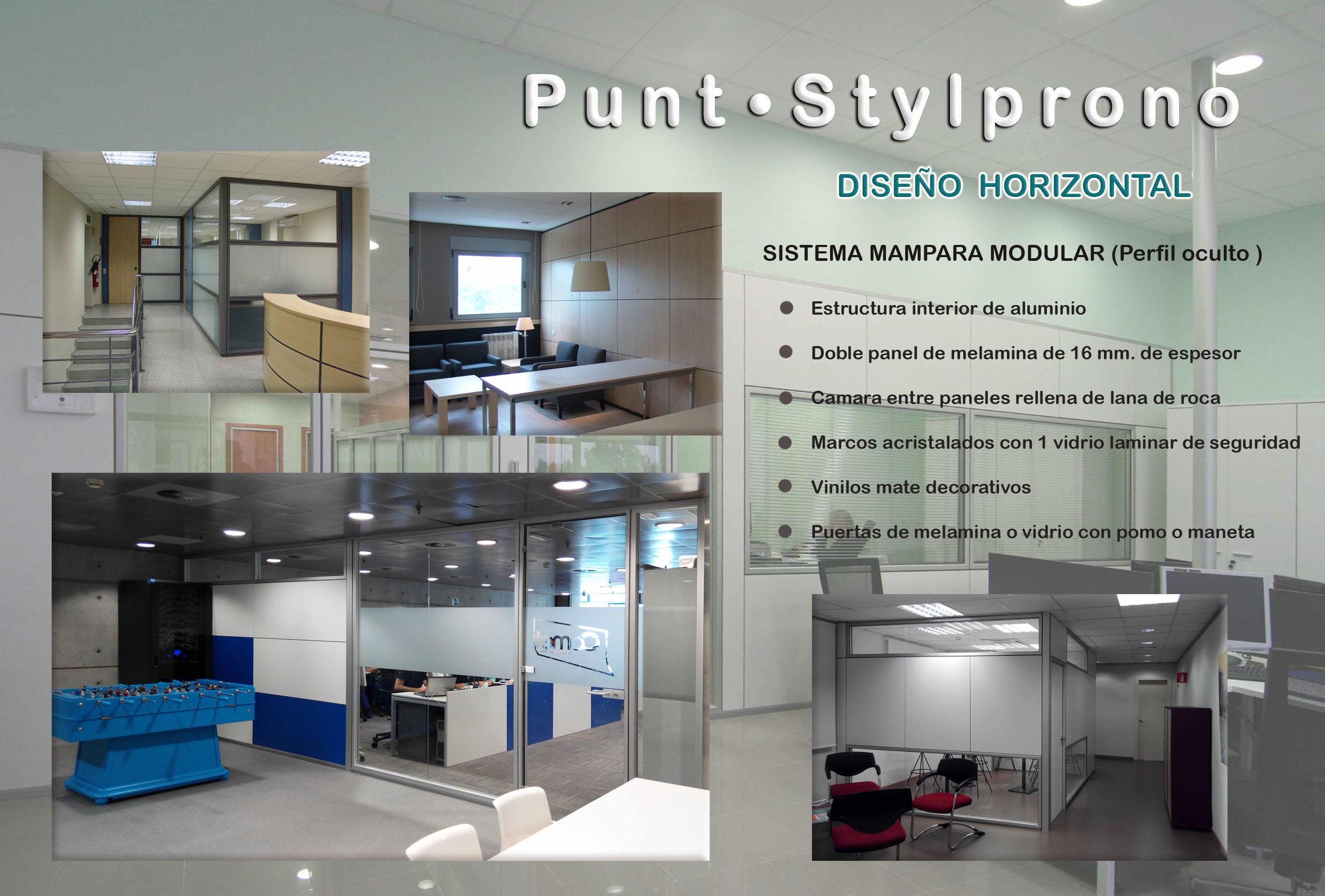 Mampara de oficinas en Barcelona , elegantes