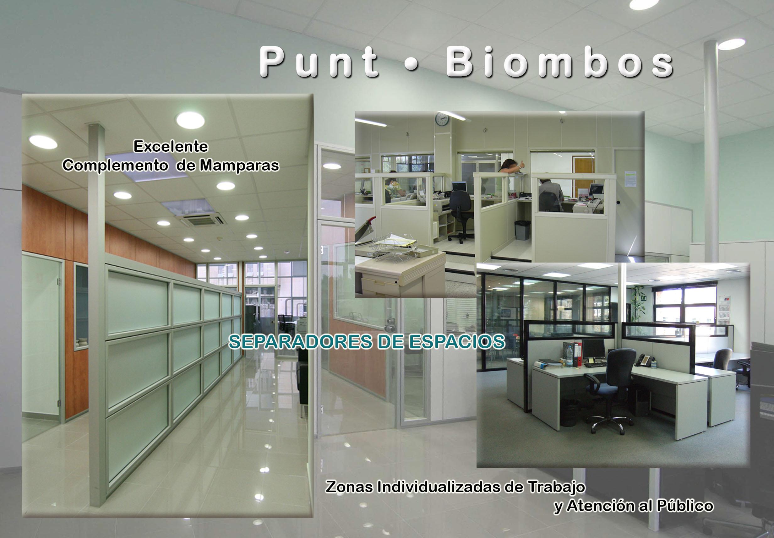 Biombos para oficinas en Barcelona, biombos para despachos en Barcelona, Punt - Biombos