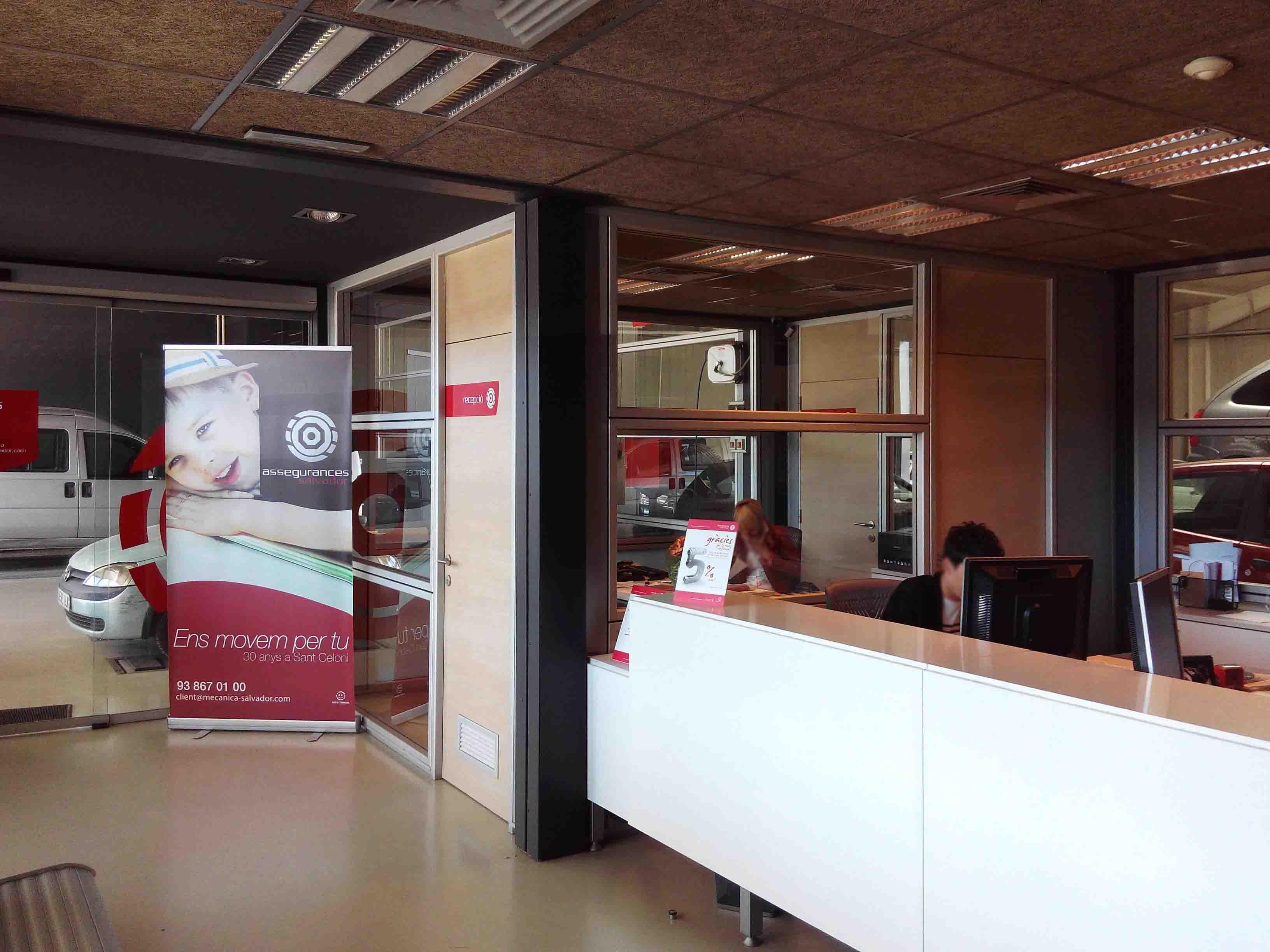Mamparas y divisiones de oficinas Style Prono en Barcelona 10
