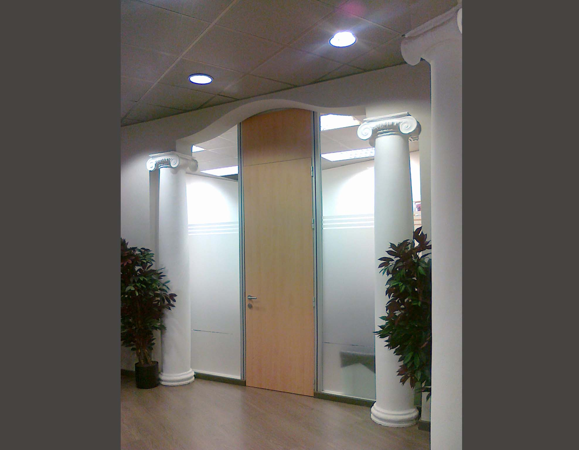 Mamparas de Oficinas en Barcelona, Cristal, Vidrio,