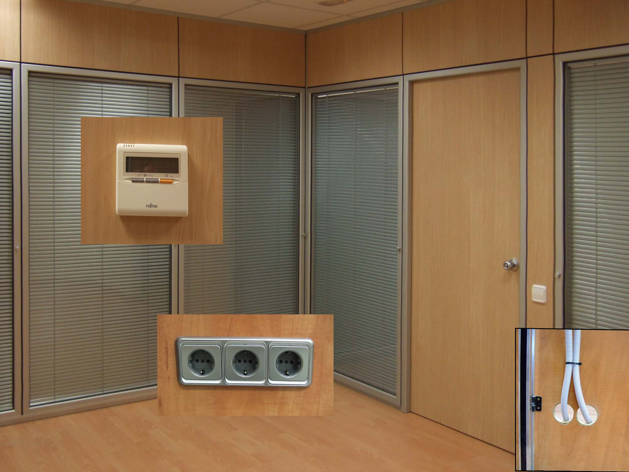 Accesorios y Acabados para Mamparas y Divisiones de Oficinas en Barcelona